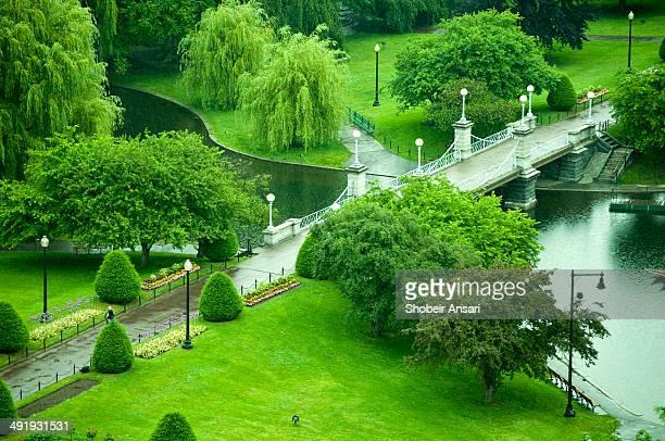 The Lagoon Bridge, Boston Public Garden