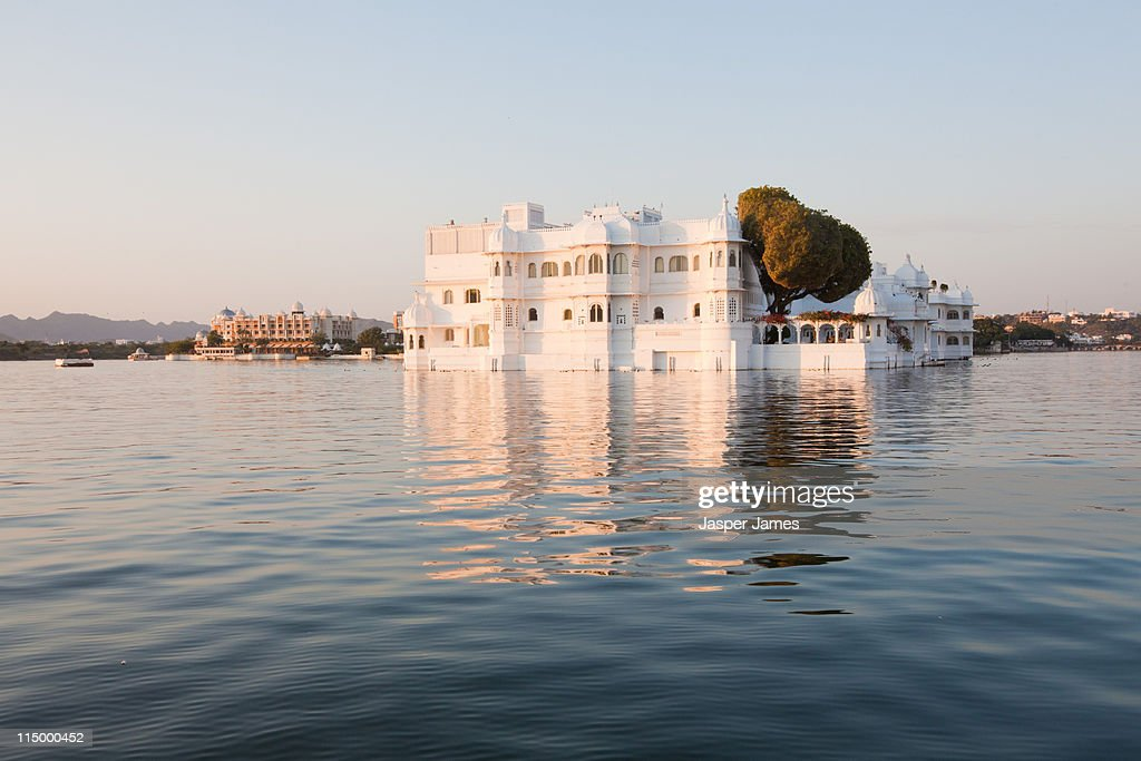 The lake Palace Hotel at Udaipur,India : Stock Photo