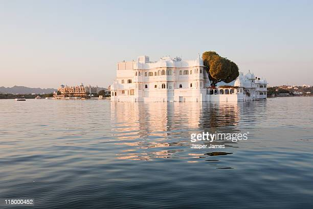 The lake Palace Hotel at Udaipur,India