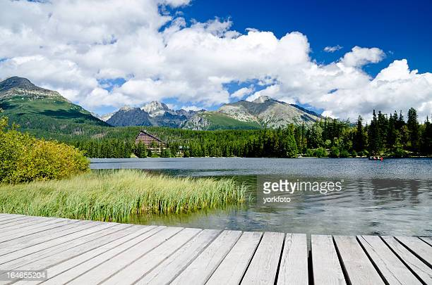 The lake Strbske pleso