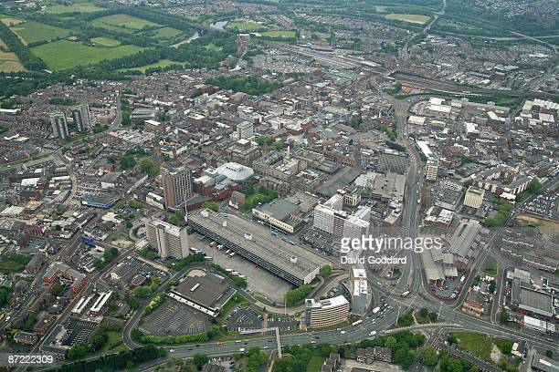 The Lancashire town of Preston in the North West on 5th June 2006
