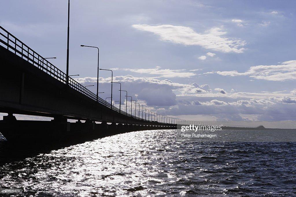 The �land bridge Sweden.