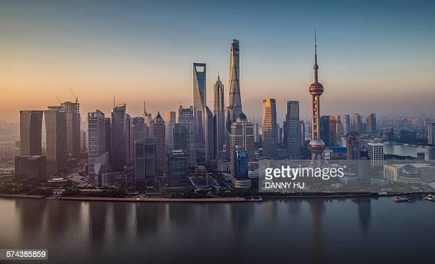 the landmark of Shanghai