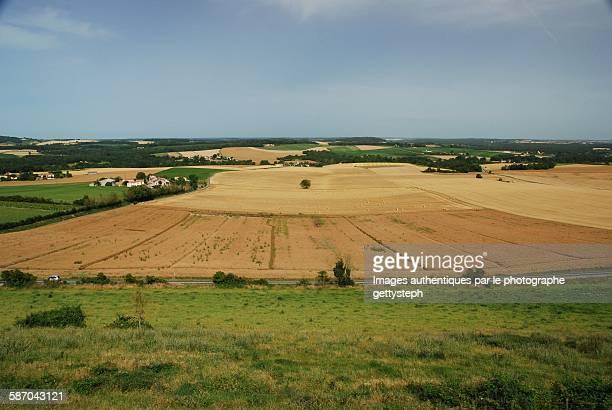 The landscape in Villebois-Lavalette