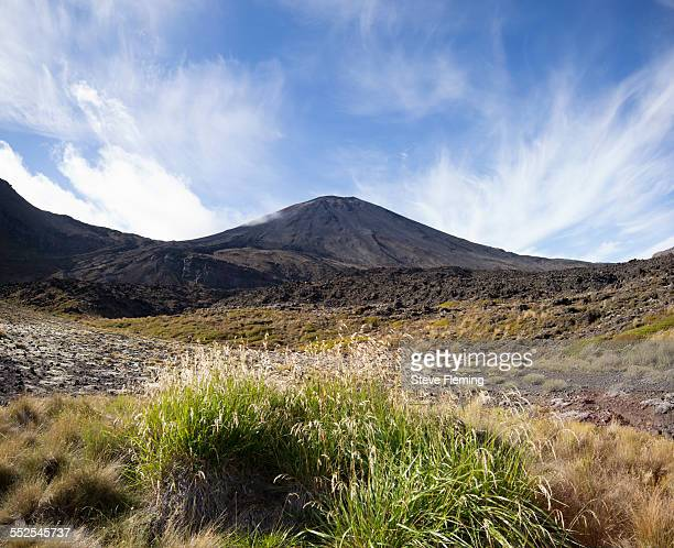 The landscape of the Tongariro Crossing