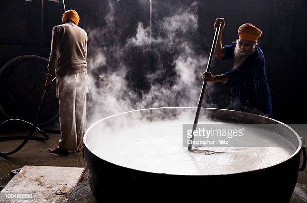 The 'Langar', kitchen of the Sikh's Golden Temple