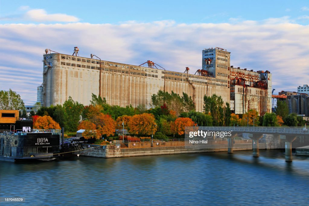 The large and familiar grain elevator complex located at the foot of McGill Street and the mouth of the LachineCanal, popularly known as Silo No. 5, was built over a period of more than fifty years, starting in 1903. It is an example of the remarkable grain elevator technology used in the nineteenth and twentieth centuries, when Canada's last steel silos were built, including Elevator B, which was the city's most imposing industrial structure for many years.