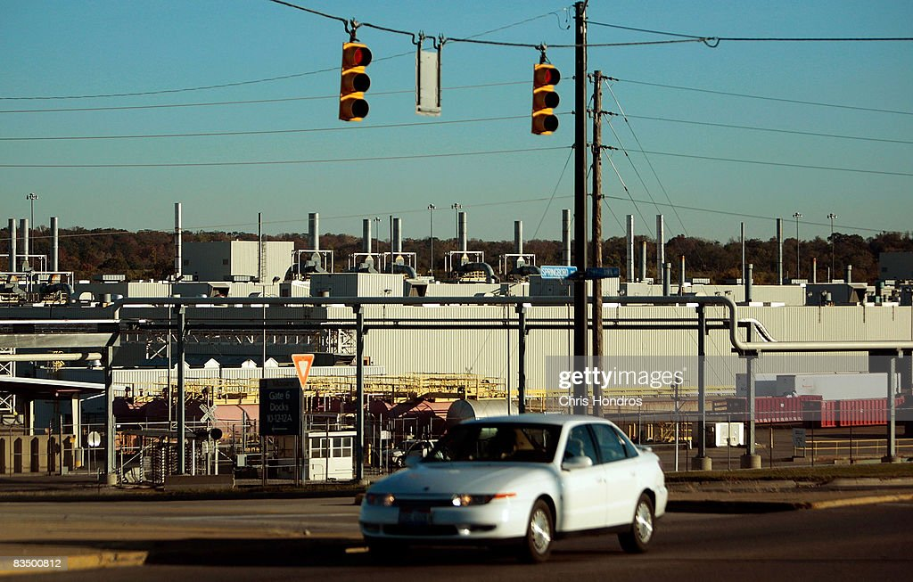 The large General Motors auto factory is seen October 30 2008 in Moraine a suburb of Dayton Ohio The tiny town of Moraine is bracing as General...