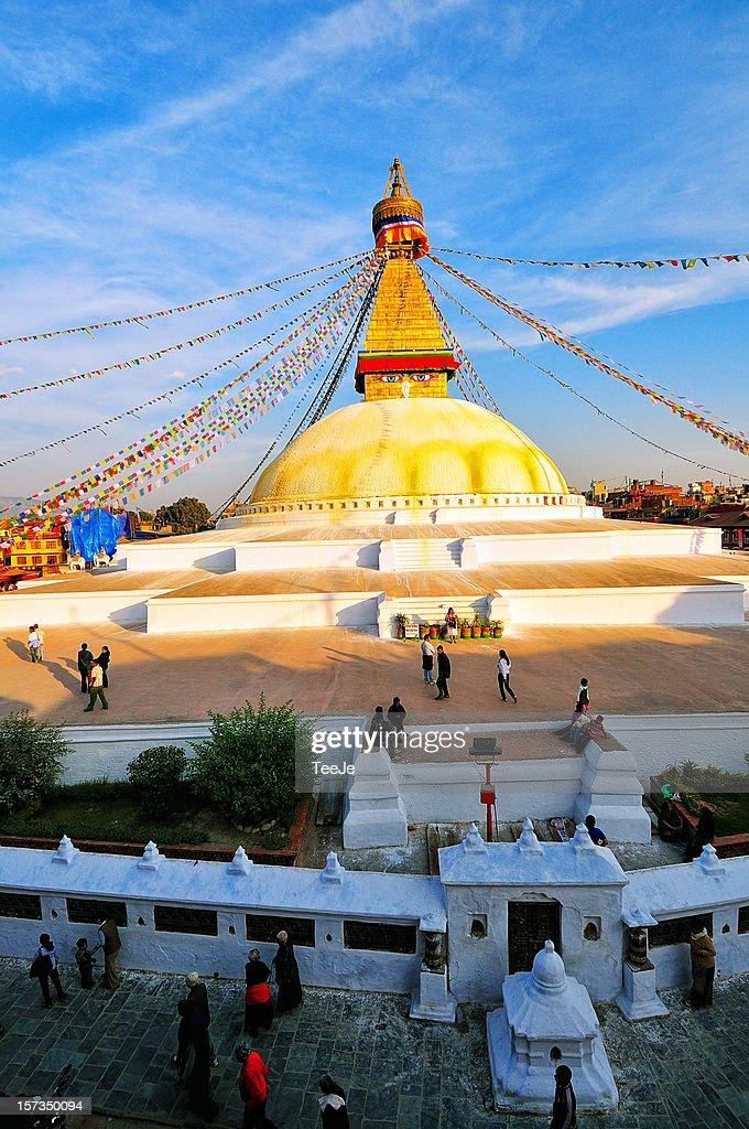 The Largest Stupa in the world - Boudha Stupa