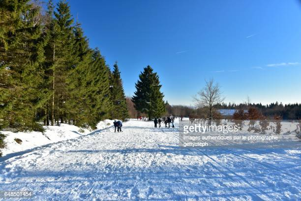 The largest trail for walking or practice of cross country ski