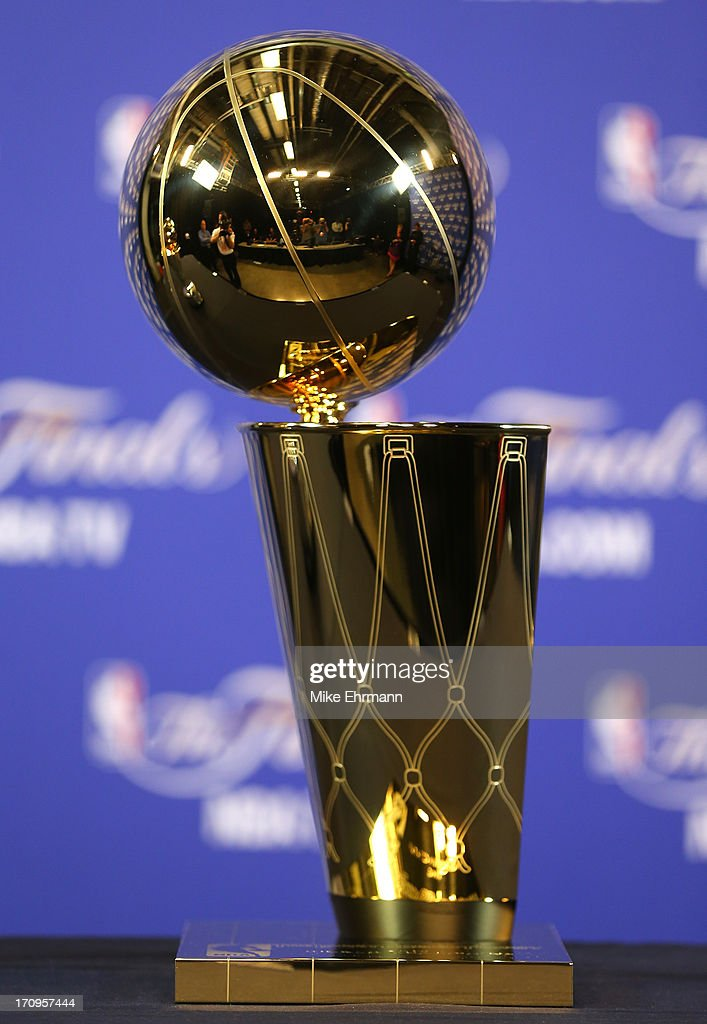 how to make a nba championship trophy