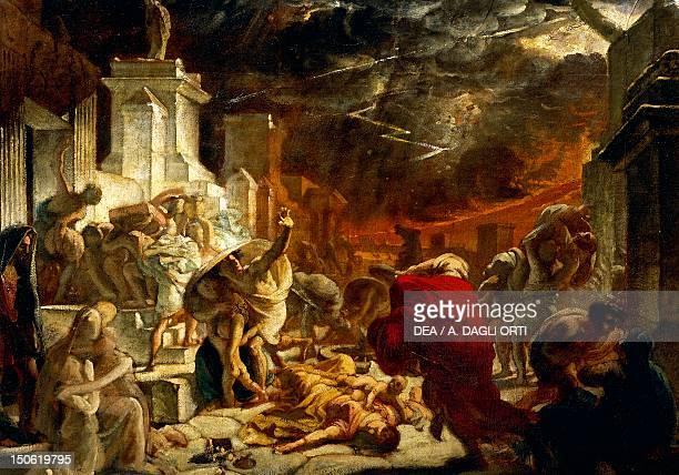 The last days of Pompeii August 24 Brjullov Karl oil on canvas Flavian dynasty Italy 1st century