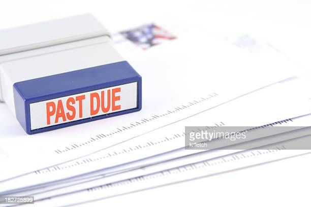 The last due bills and the stamp