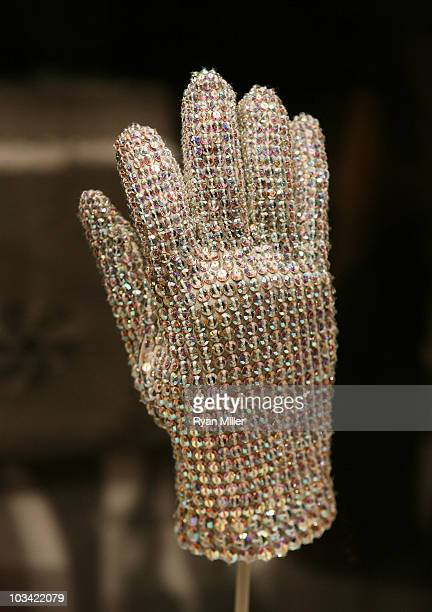 The last glove that Michael Jackson was photographed wearing is on display in 'How The West Was Worn by Michael Jackson' at The Autry National Center...