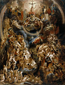 The Last Judgement Found in the collection of Louvre Paris