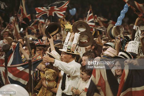 The Last Night of the Proms at the Royal Albert Hall in London circa 1968