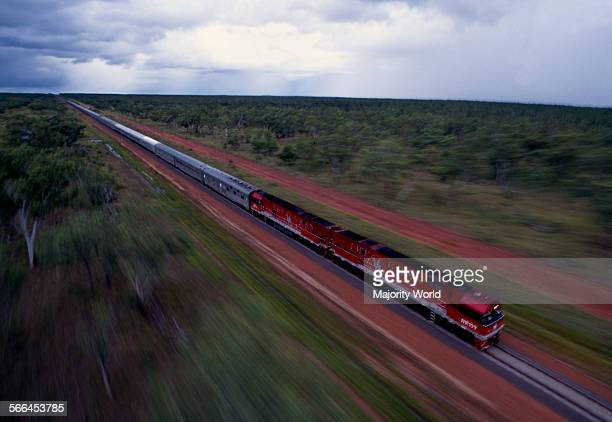 The last of the great transcontinental train routes has been completed The new Australasia Railway bisects the continent running on a north/south...