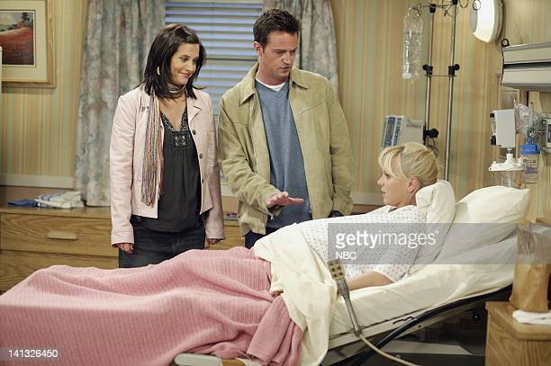 FRIENDS 'The Last One Part 1' Episode 19 Aired 5/6/2004 Pictured Courteney Cox as Monica GellerBing Matthew Perry as Chandler Bing Anna Faris as...