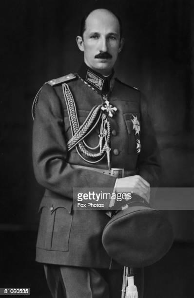 The last photograph taken of King Boris III of Bulgaria 1943