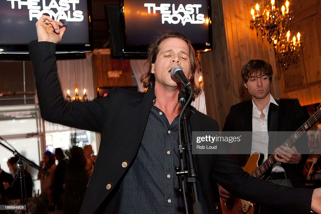The Last Royals perform at the pre-party for Stand Up For a Cure at Madison Square Garden on April 17, 2013 in New York City.