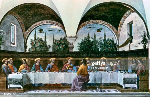 'The Last Supper' 1480 Found in the Convent of San Marco Refectory Florence Italy