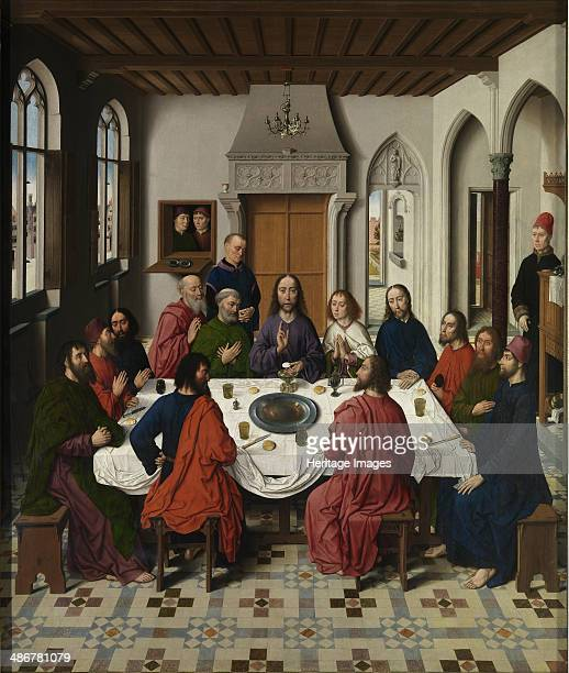 The Last Supper altarpiece 14641468 Artist Bouts Dirk