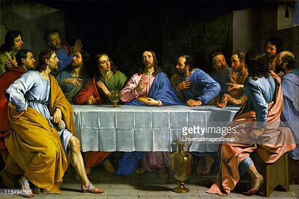 'The Last Supper' by Philippe de Champaigne French painter