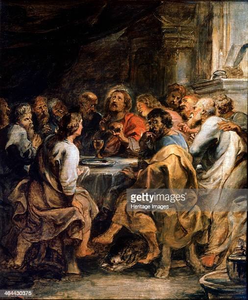 'The Last Supper' c16301631 Rubens Pieter Paul Found in the collection of the State A Pushkin Museum of Fine Arts Moscow