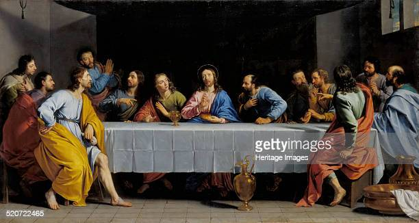 The Last Supper Found in the collection of Louvre Paris
