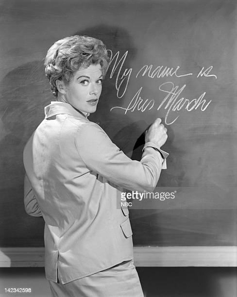 THEATRE 'The Latch Key' Episode 739 Pictured Janis Paige as Iris March