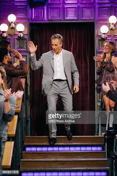 The Late Late Show with James Corden airing Monday March 27 with guests JJ Redick Scott Bakula and Pete Holmes Pictured Scott Bakula