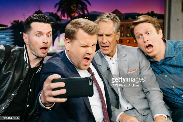 The Late Late Show with James Corden airing Monday March 27 with guests JJ Redick Scott Bakula and Pete Holmes