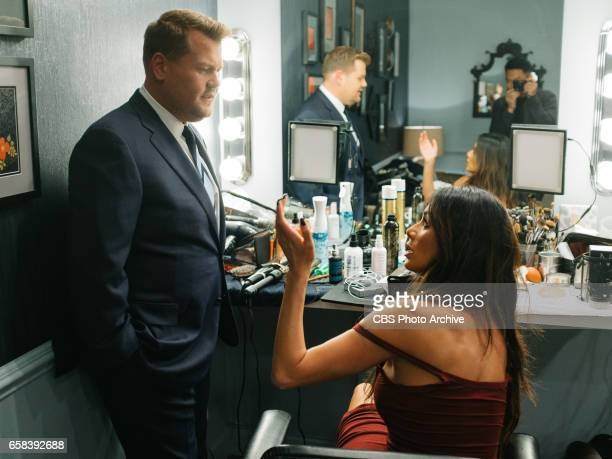 The Late Late Show with James Corden airing Thursday March 23 with guests Jenna Elfman Terrence Howard and Nicole Scherzinger Pictured James Corden...