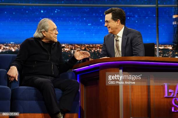 The Late Show with Stephen Colbert airing Friday March 31 2017 with Susan Sarandon Joey McIntyre Robert Klein