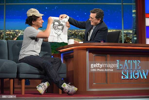 The Late Show with Stephen Colbert airing live Thursday July 28 2016 in New York With guest Eric Andre