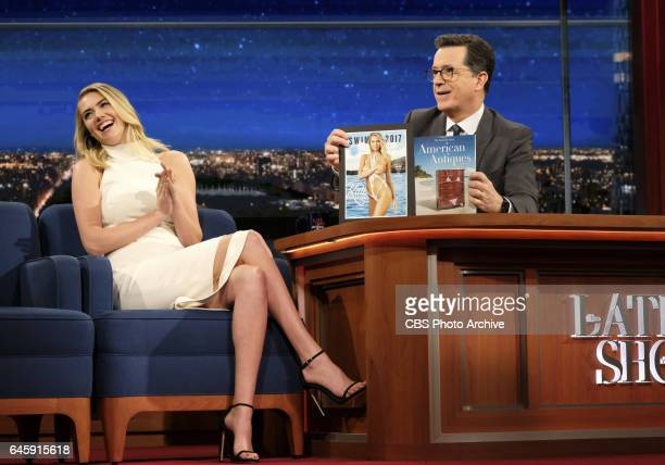 The Late Show with Stephen Colbert airing Tuesday February 21 2017 with Kate Upton