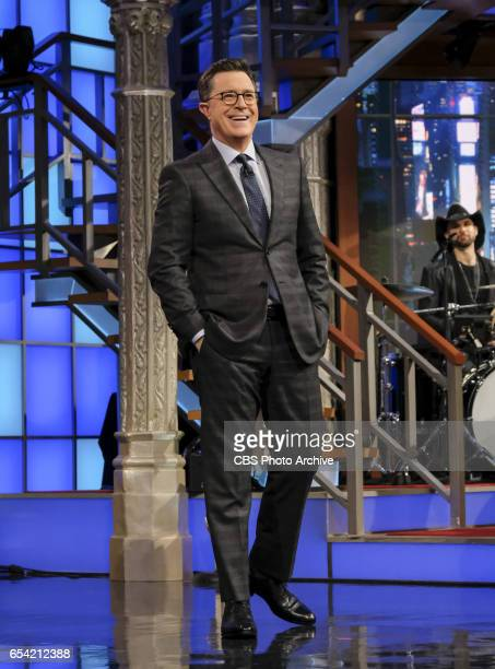 The Late Show with Stephen Colbert airing Tuesday March 14 2017 with Neil deGrasse Tyson and Todd Barry