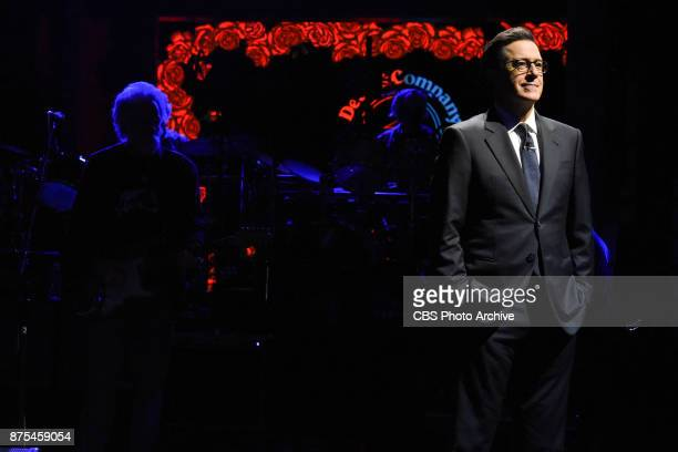 The Late Show with Stephen Colbert and guest Dead and Company during Thursday's November 16 2017 show
