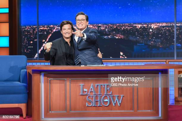 The Late Show with Stephen Colbert and guest Jason Bateman during Thursday's July 20 2017 show