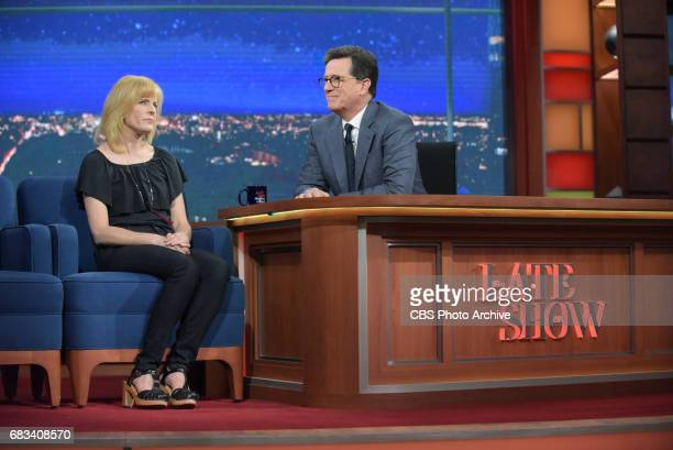 The Late Show with Stephen Colbert and guest Maria Bamford during Friday's May 5 2017 show
