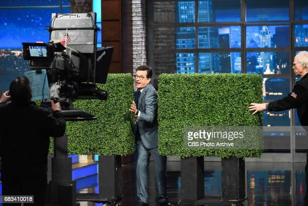 The Late Show with Stephen Colbert during Friday's May 12 2017 show in New York