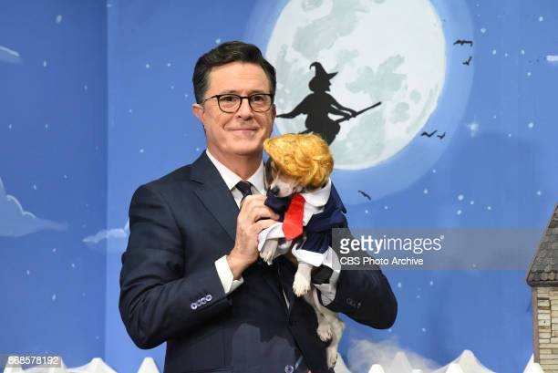 The Late Show with Stephen Colbert during Monday's October 30 2017 show