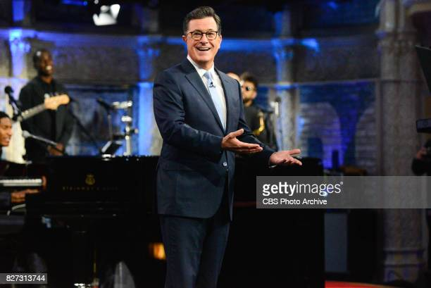The Late Show with Stephen Colbert during Thursday's August 3 2017 show