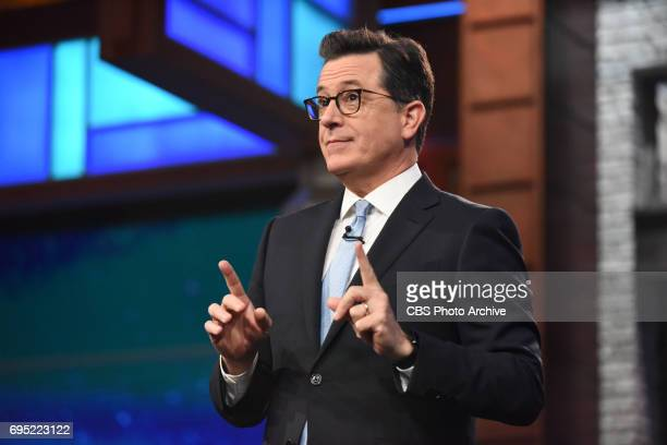 The Late Show with Stephen Colbert during Thursday's June 8 2017 show