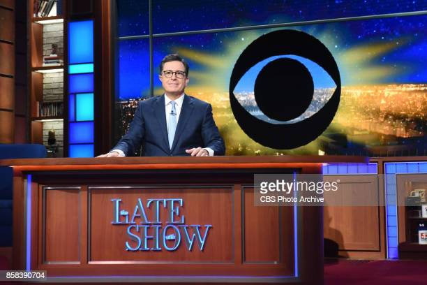 The Late Show with Stephen Colbert during Thursday's October 5 2017 show
