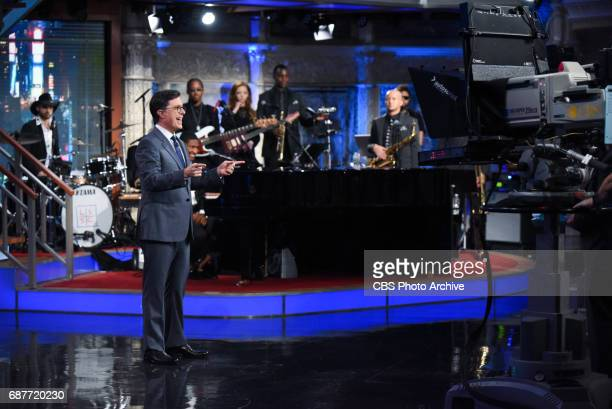 The Late Show with Stephen Colbert during Tuesday's May 23 2017 show
