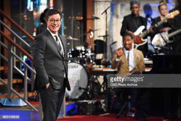The Late Show with Stephen Colbert during Tuesday's May 9 2017 show