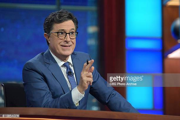 The Late Show with Stephen Colbert during Wednesday 's 10/19/16 taping in New York