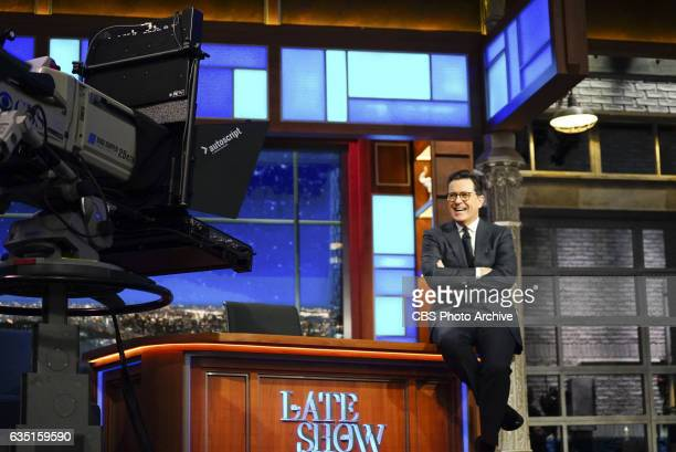 The Late Show with Stephen Colbert on Thursday Feb 9 2017 with guests David Oyelowo Taran Killam musical performance by Rae Sremmurd
