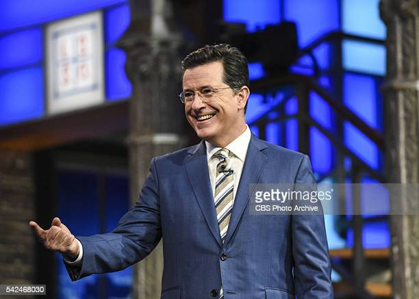 The Late Show with Stephen Colbert Stephen Colbert on Monday's taping in New York